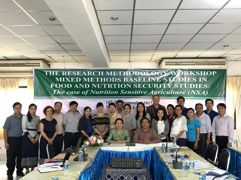 Participation of Institute for Community Health Research in PhD training counseling in Vientiane, Laos (September 18th -22nd , 2017)