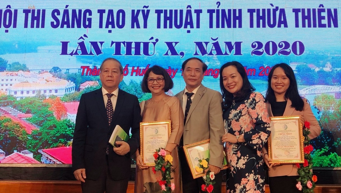 ICHR has won a prize in the 10th Scientific and Technical Creation Contest of Thua Thien Hue province
