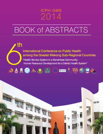 Abstract from th International Public Health Conferences - GMS Networks