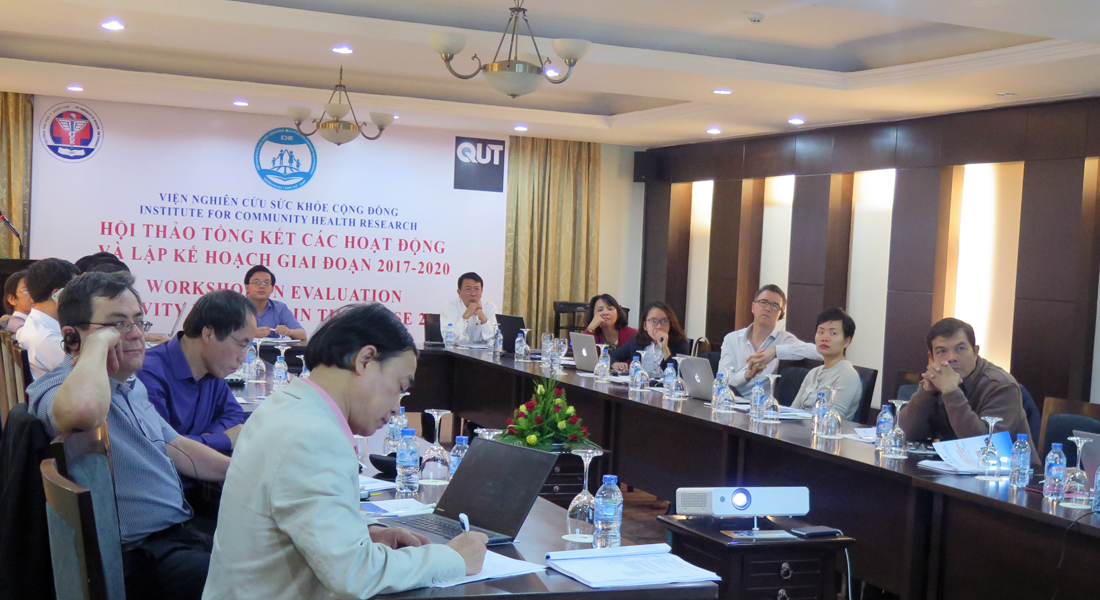 Institute for Community Health Research's activities review and proposed plan of activities meeting
