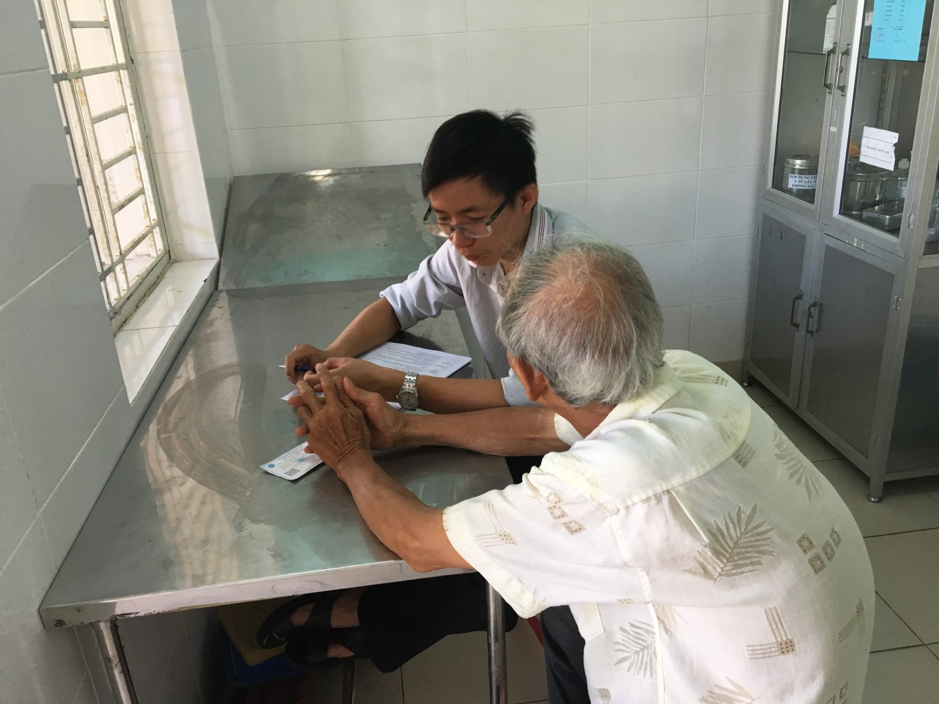 The Institute for Community Health Research conducted research aimed to assess health status and health related factors among old people in Thua Thien Hue province