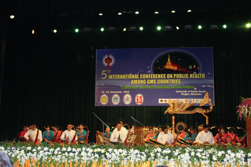 International conference on Public Health among Greater Mekong Sub-Region in Yangon, Myanmar (27-29/9/2013)