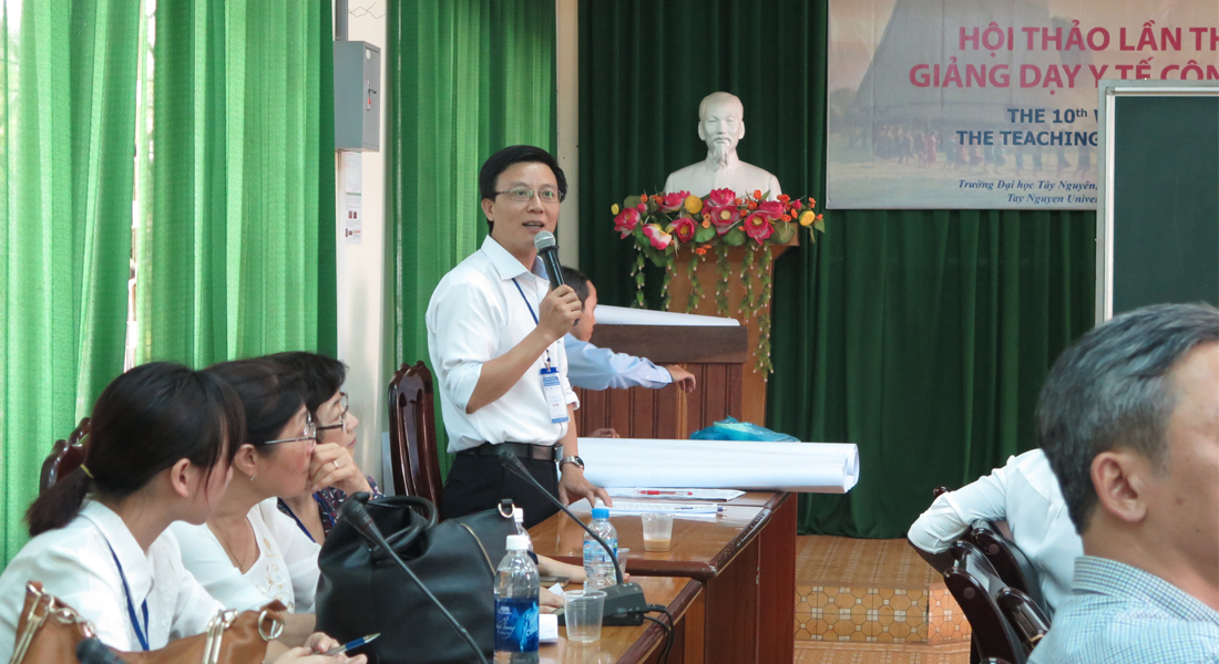 Workshop on the teaching of Public health