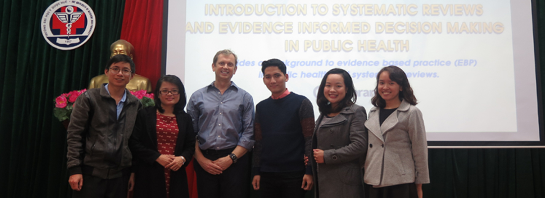 TRAINING COURSE: INTRODUCTION TO SYSTEMATIC REVIEWS AND EVIDENCE INFORMED DECISION MAKING IN PUBLIC HEALTH