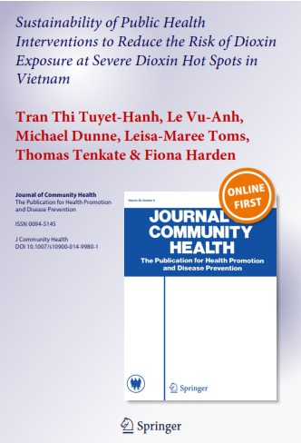 Sustainability of Public Health Interventions to Reduce the Risk of Dioxin Exposure at Severe Dioxin Hot Spots in Vietnam