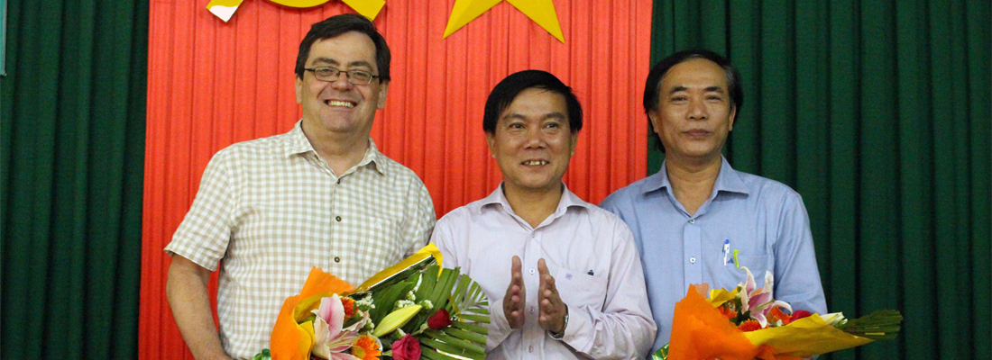 Meeting with the Director Board of the Health Department of Quang Ngai Province